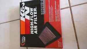 Shadow K&N air and oil filter