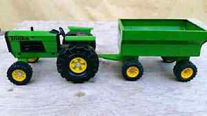 Tonka Tractor and Wagon