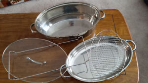 NEW Heavy high quality stainless steel roaster