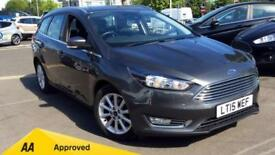 2015 Ford Focus 1.6 125 Titanium 5dr Powershif Automatic Petrol Estate