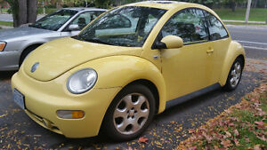 2003 Volkswagen Beetle Bug - Safety, Etested and Car Proof