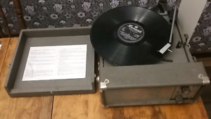 Voice of Music 1967 Portable Record Player 16 33 45 78 RPM