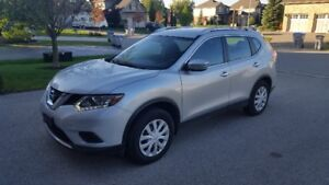 2015 Nissan Rogue AWD 4dr S - LOW KM - Certified