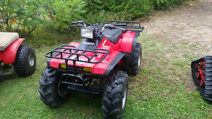 Honda fourtrax 350 4x4 pneus neuf  SUPER PROPRE!!