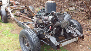 S10 Frame with Small Block Chev