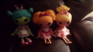 Lalaoopsy dolls $10 each
