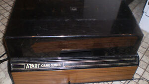 Atari 2600 wood grain system, storage box, etc. London Ontario image 2