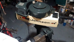 1.5 HP Johnson Outboard
