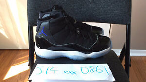 Air Jordan 11 Space Jam BG (Kids Girl) 6Y 6.5Y 7Y