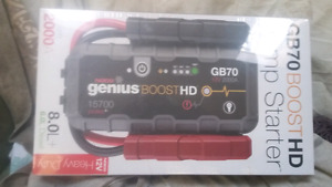 Genius and eliminator brand Booster/ charger/ power banks