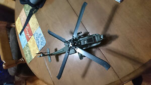 Blade Apache helicopter