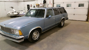 1980 Malibu Wagon sleeper