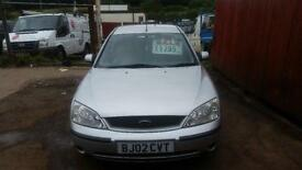 2002 Ford Mondeo 1.8 LX 5dr