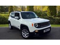 2016 Jeep Renegade 1.4 Multiair Longitude 5dr Manual Petrol Hatchback