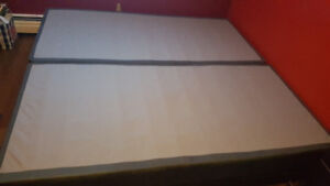 King size box spring must go immediately! Best/ 1st offer takes