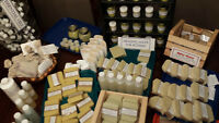 Eco Soaps, Lip Balms, Bath Bombs, Deodorants, Salves etc