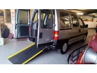 2006 Peugeot Expert Diesel Wheelchair Disabled Accessible Vehicle RARE