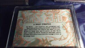 Desert Storm, Jaws 2 and Jaws 3D Trading Cards Complete Sets Stratford Kitchener Area image 8