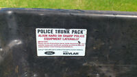 police trunk pack pour crown victoria et gand marquis