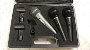 Behringer XM1800S Mics and Sony Mic