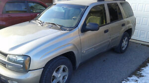 2003 Chevrolet Trailblazer great for winter want gone by sat