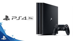 PS4 Pro 1TB Console + FREE GAME + WARRANTY $379.99