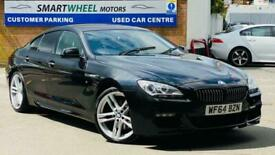image for 2014 BMW 6 SERIES GRAN COUPE 3.0 640d M Sport Gran Coupe Steptronic 4dr Saloon D