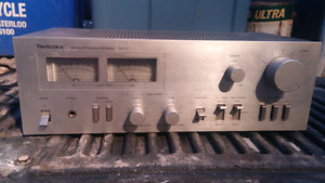 Vintage Technics stereo receiver