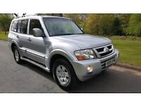 MITSUBISHI SHOGUN 3.2 DiD FIELD LWB,7 SEATER , RARE MANUAL, LEATHER TRIM