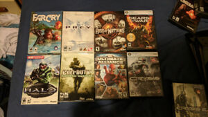 Various PC games for sale