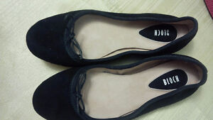 Brand New Black Suede Shoes - for sale !