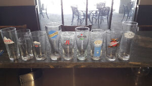 Wide Variety of Pint Glasses