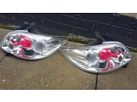 Rear Lexus lights to fit Peugeot 206. removed from 2004.