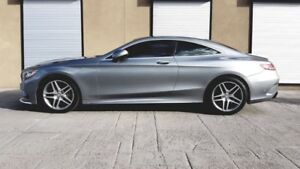 0 DOWN LEASE Mercedes-Benz S550 COUPE 4 MATIC EXTENDED WARRANTY