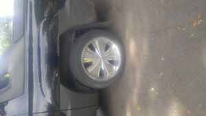 22 inch rims and tires universal