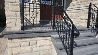 Wrought Iron Railings, Gates