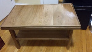 Brand New Hand Made Walnut And Cherry Coffee Table