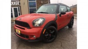 2013 MINI Cooper Paceman S AWD  Sporty Stick Effortless cool!