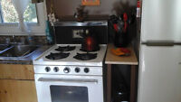 Propane range - No power required -Perfect for camps