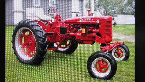 WANTED: RIMS FOR FARMALL C