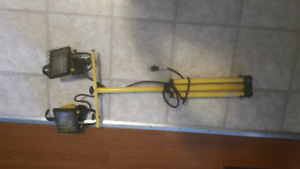 Electric hand tools/storage/lights (outdoor items)