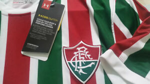 Fluminense Brazil 2017 Home  Soccer Jersey  Under Armour