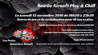 Soirée Airsoft Adulte Play & Chill