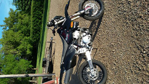 2009 Suzuki Drz 400SM excellent condition with mods