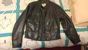 Men's Leather Jacket and Pants