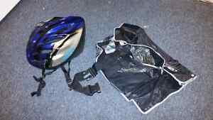 ProMax Helmet and 3 pocket protective gear.  Peterborough Peterborough Area image 1
