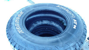 "4 Hankook Dynapro ATM LT265/70R17"" Tires"