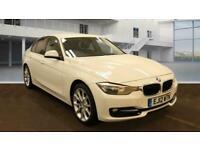 2012 BMW 3 Series 318d Sport 4dr ++ SAT NAV LEATHER 18 INCH ALLOYS BLUETOO