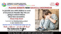 CCA accepting donation for Undercover Project