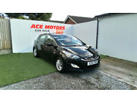 2013 HYUNDAI i i30 1.6 CRDi BLUE DRIVE ACTIVE STOP/START,ONLY 53000 MILES